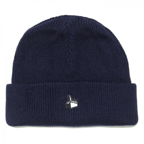 MERCURY : Navy Issue Cuffed Knit Beanie