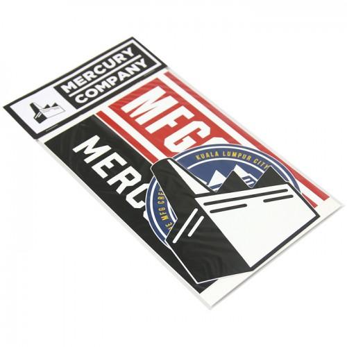 MERCURY : Vinyl Sticker Set V2